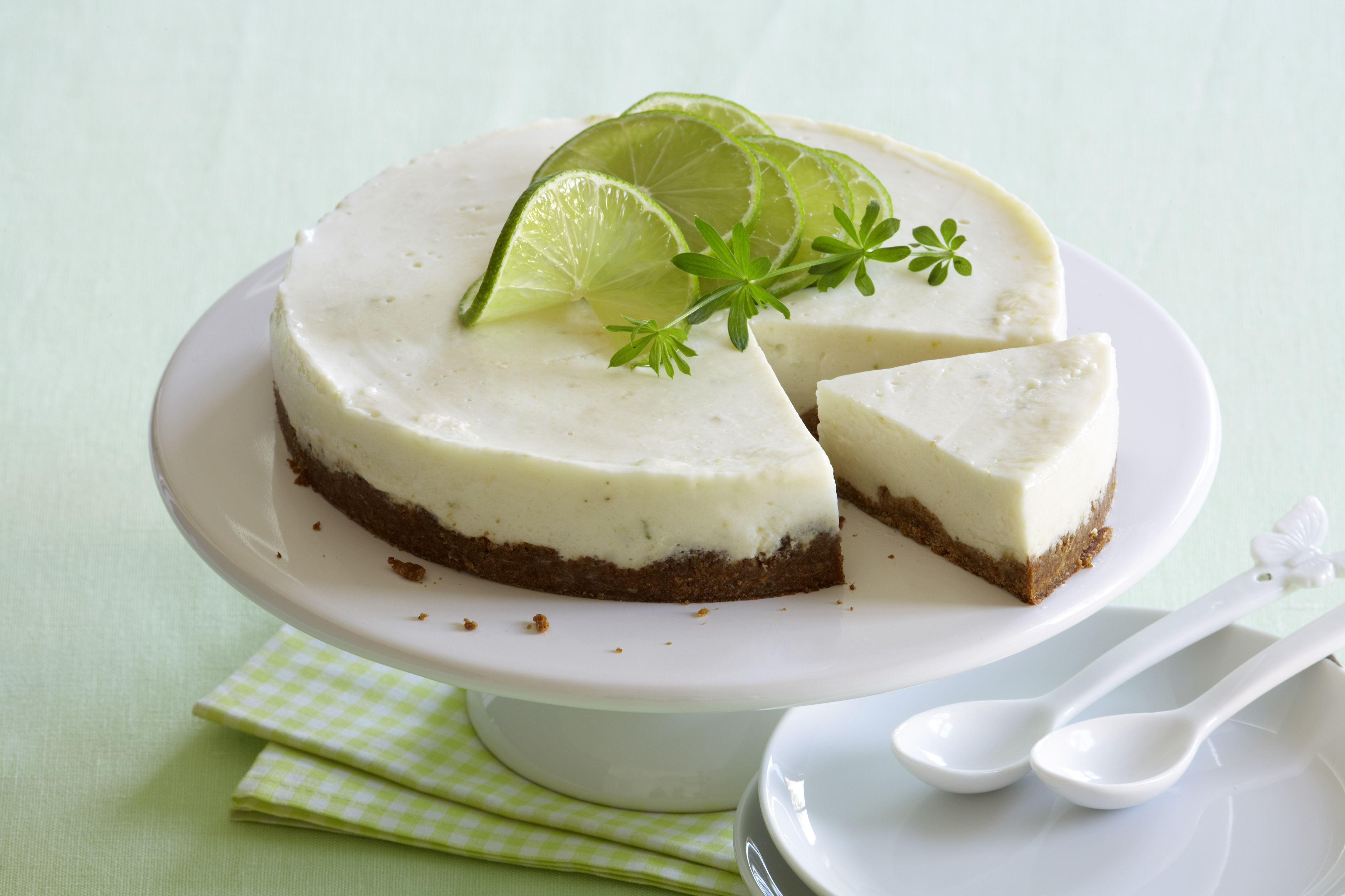 recipe image Limetten Pie
