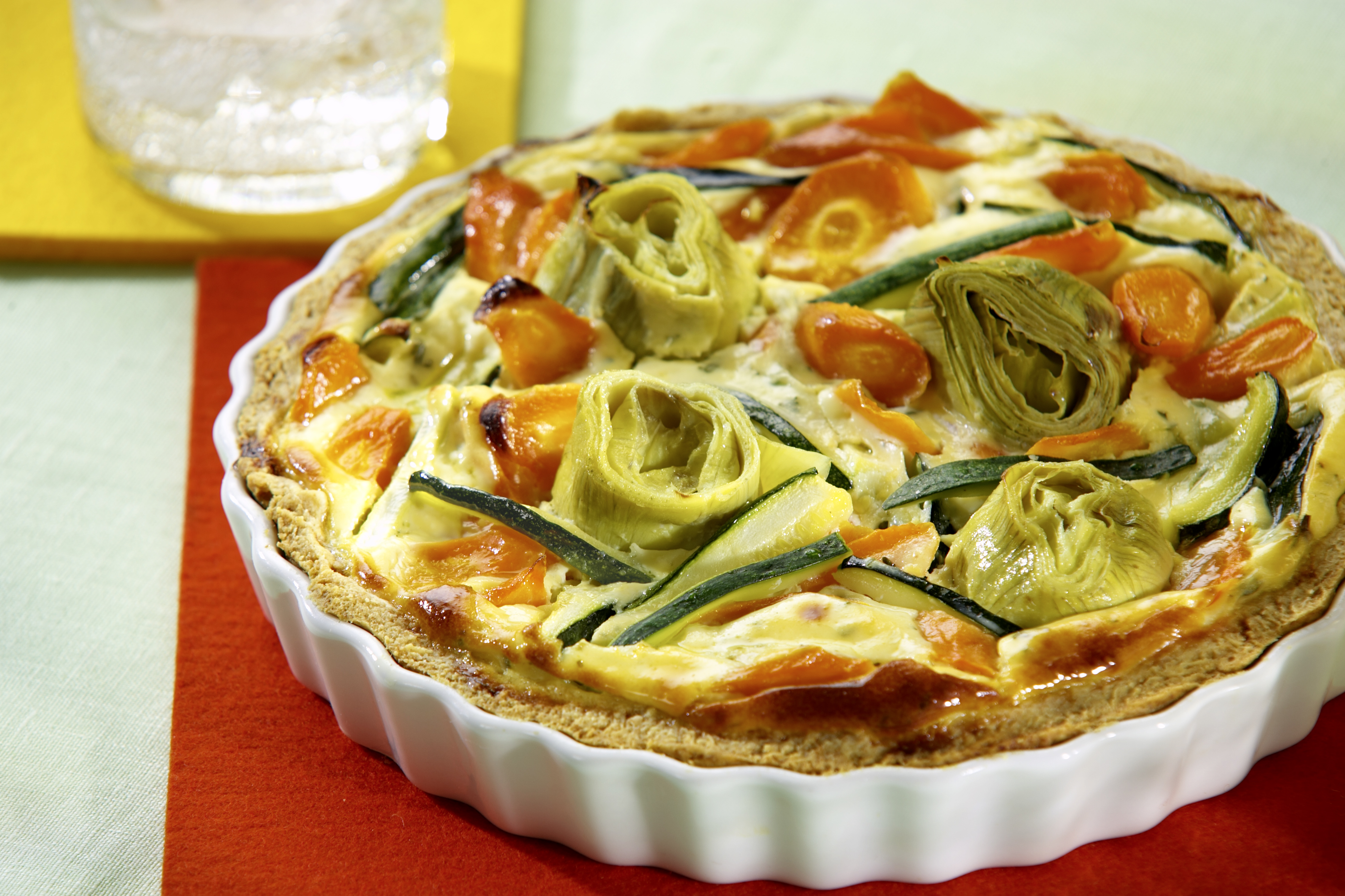 recipe image Artischocken-Quiche
